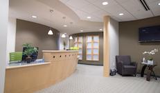 Guaranteed Smiles renovated reception area